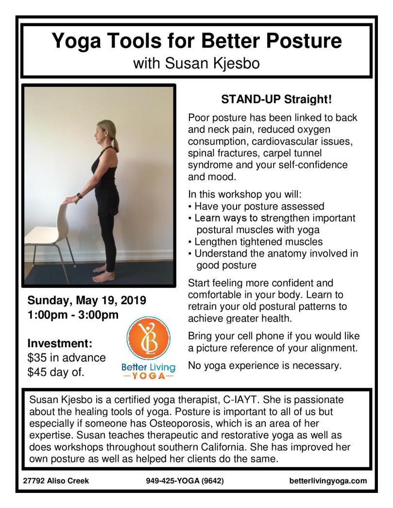 Posture May 2019