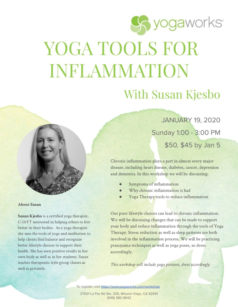Jan 2020 Kjesbo, S_ Yoga Tools for Inflammation
